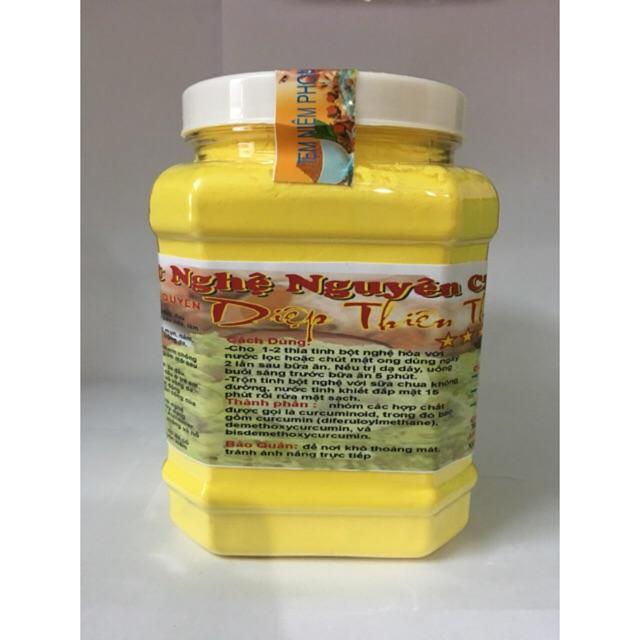 [nhập SHOPTHT7 giảm 10%]1kg tinh bột nghệ đỏ lọc tinh dầu nguyên chất, có chứng nhận ATTP