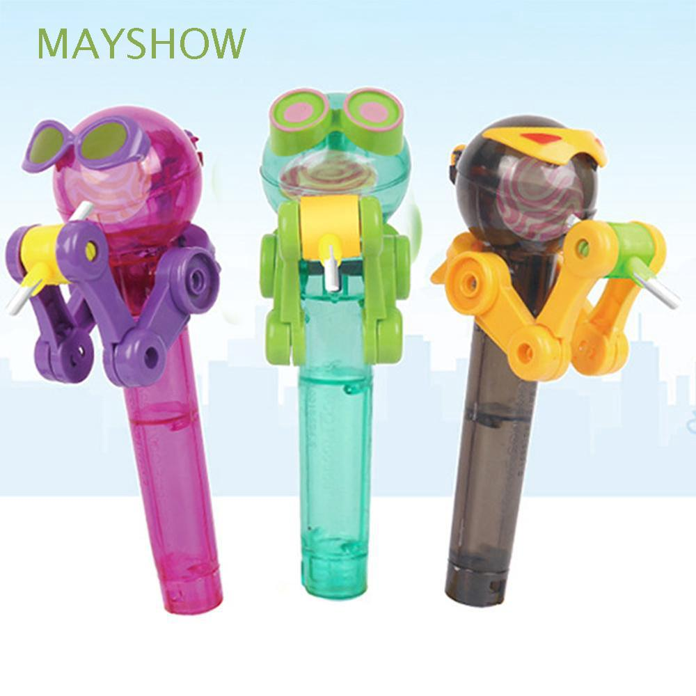 Cute Funny Personality Creative Newest Robot Lollipops Holder
