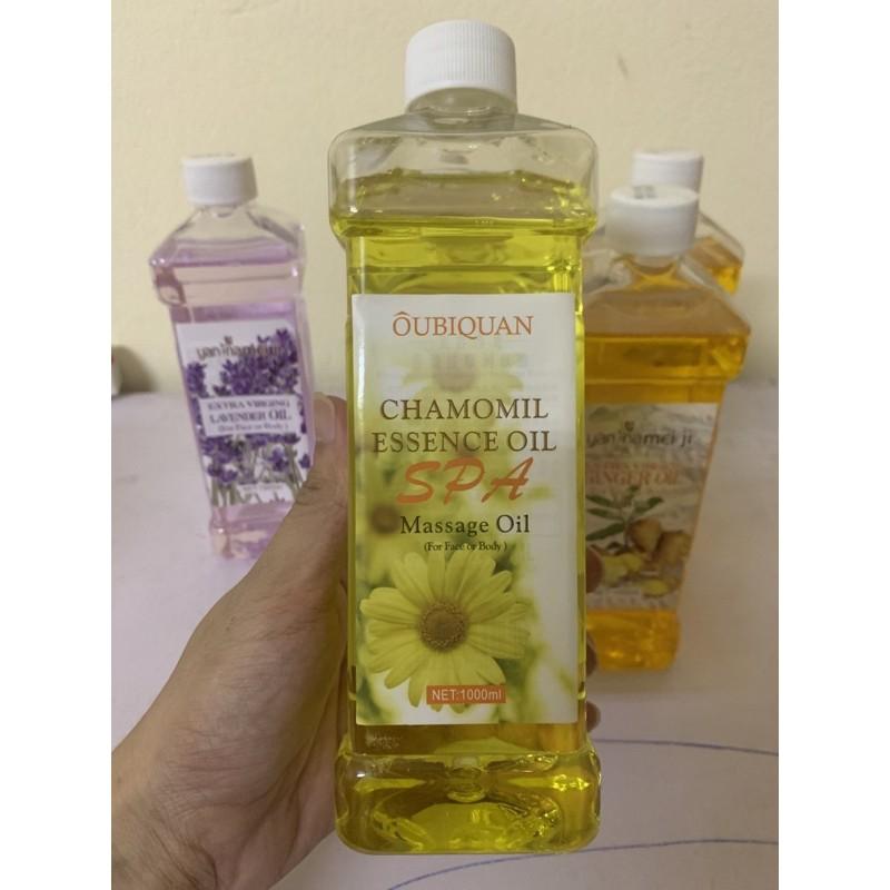 Dầu massage body hoa hồng, hoa cúc, hoa lavender... thơm dịu nhẹ, masage trơn tay
