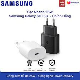 [zin máy Samsung] Bộ Sạc nhanh 25W Note 10, Note 10 Plus, Samsung S10 5G, A90, A80, A70 và Cáp 2 đầu Type C - Type C
