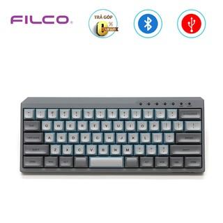 Bàn phím cơ Bluetooth Filco Minila-R Convertible Sky Gray - Hàng chính hãng thumbnail