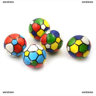 warmhome 6.3cm Colorful Sponge Foam Ball Squeeze Stress Ball Relief Toy PU Rubber Toy thro