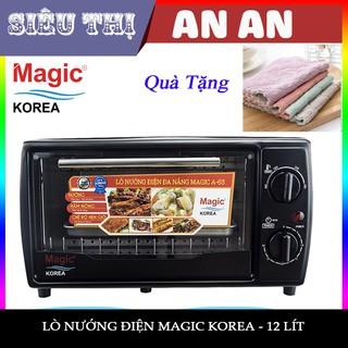 LÒ NƯỚNG MAGIC KOREA A63 - 12 LÍT