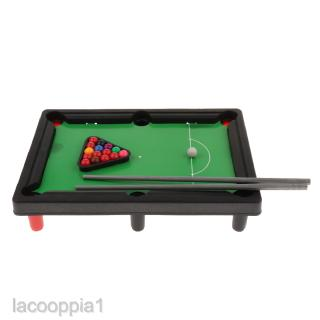 Desktop Tabletop Pool Mini Billiard Ball Set Parent-child Interactive Toy