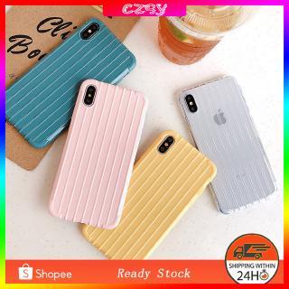 Ốp lưng màu trơn đơn giản bảo vệ điện thoại iPhone XS MAX XR X 8 7 Plus 6s 6