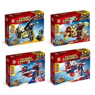 Lắp ráp Lego Herdes Assemble – SY 7018