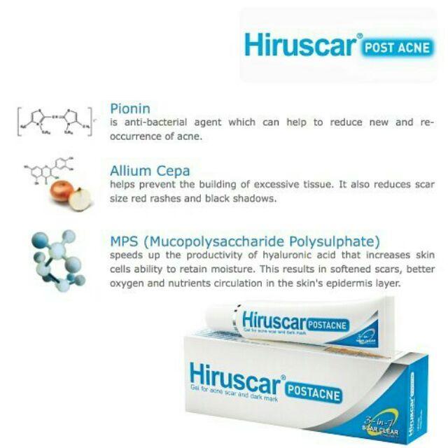 Hiruscar Post Acne - Kem trị thâm 10g (chính hãng)