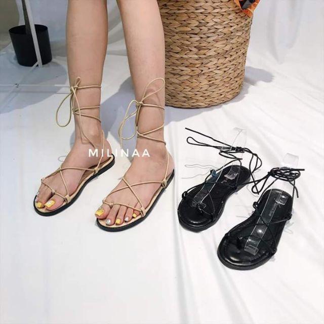 Sandal đan dây chiến binh