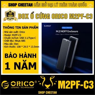 Box ổ cứng SSD M2 Orico M2PF-C3 (NGFF) – CHÍNH HÃNG – Bảo hành 12 tháng