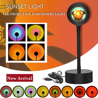 Sunset Lights Network Celebrity Projection Camera Artifact Live Atmosphere Light