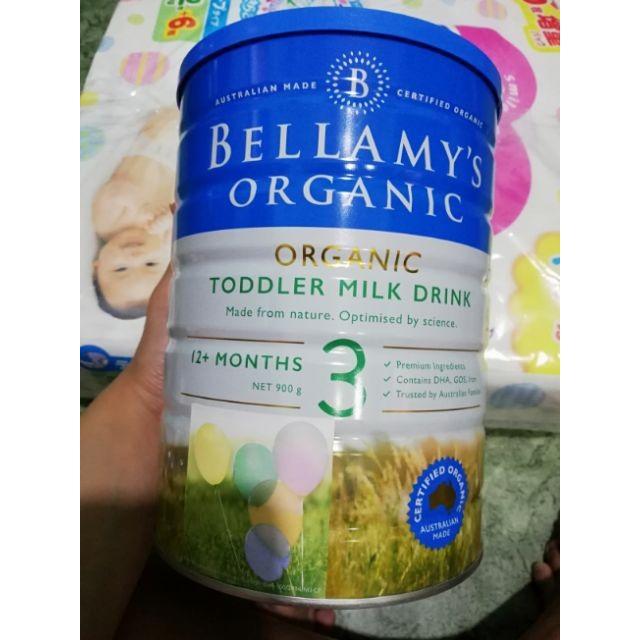 [Hsd T05.22] Sữa Bellamy`s Organic hữu cơ số mama -1 - 2 - 3 -4 lon 900g