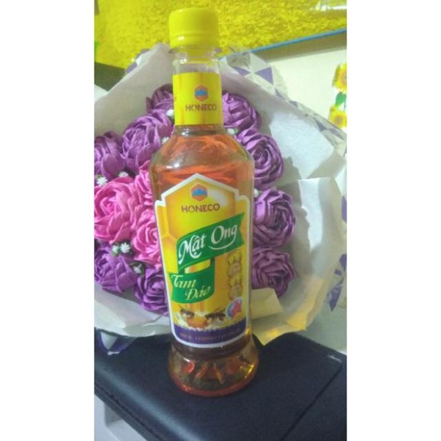 [ chính hãng] 650ml mật ong công ty Tam Đảo Honeco nguyên chất ngon tuyệt