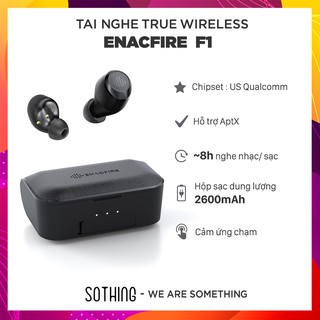 [Mã ELMSBC giảm 8% đơn 300K] [TOP AMAZON US] Tai Nghe True Wireless ENACFIRE F1 Kiêm Sạc Dự Phòng 2600mAh