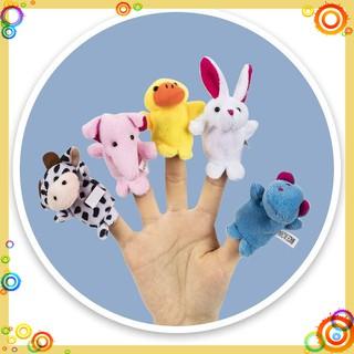 [RẺ NHẤT] Rối ngón tay thú cưng chơi với bé cả ngày