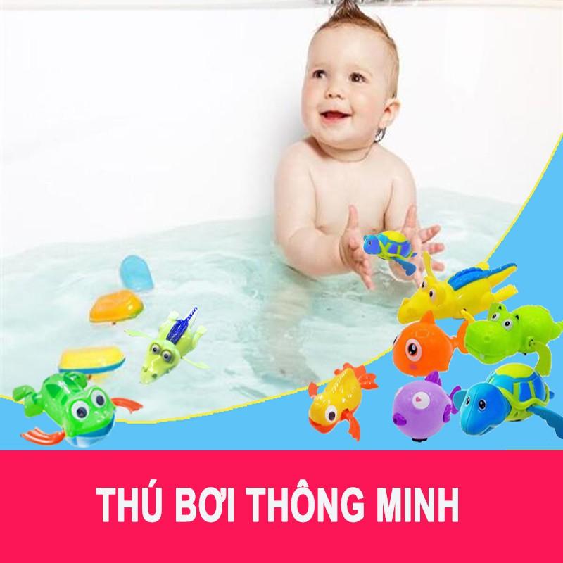 Combo 2 thú bơi bồn tắm cho bé
