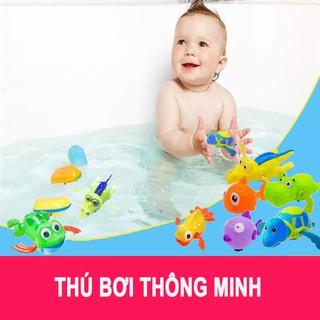 [FOLLOW SHOP 9K – KHUNG GIỜ, 21/9 ] Thú bơi dây cót thả bồn tắm cho bé