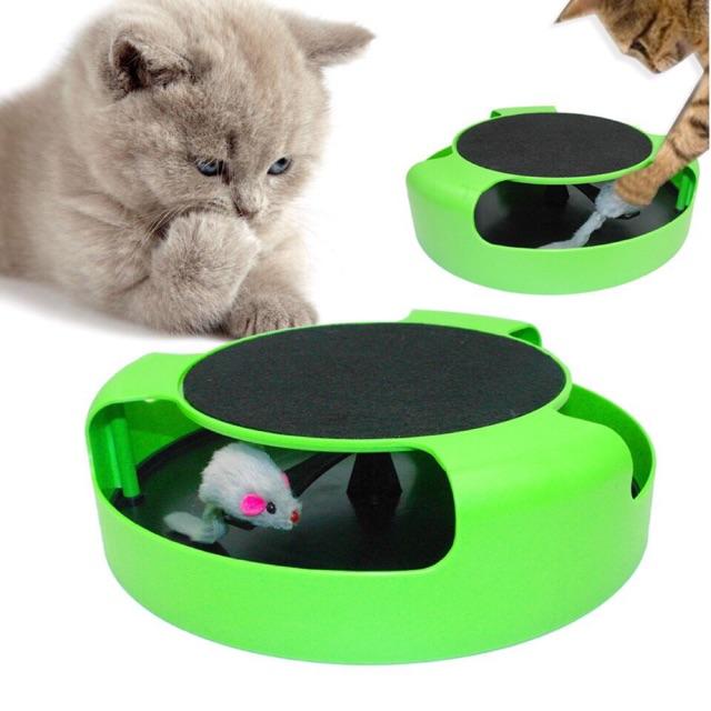 Bàn cào tròn cho mèo có chuột
