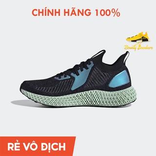 (100% chính hãng Adidas) Giày Thể Thao Adidas Alphaedge 4D Reflective Nam Đen Xanh FV6106