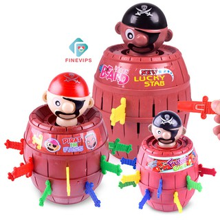 Ready Stock Hot Sale!! Running Man Pop Up Pirate Lord Barrel Roulette Game TOY