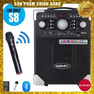 Loa karaoke di động S8 – Bluetooth – tặng 1 micro không dây
