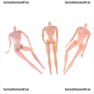 """[Spring] 14/11 Jointed Movable Nude Naked Doll Body For 11"""" Doll 1/6 30cm Dolls Body [VN]"""