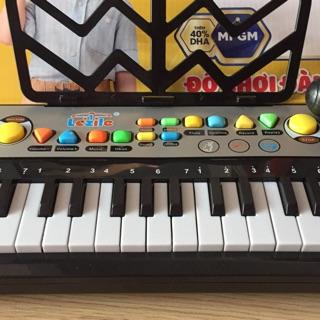 Freeship đơn 99k_ Đàn organ cho bé có mic và chức năng ghi âm