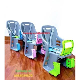 Ghế nhựa ngồi xe đạp và xe đạp điện cho bé hãng Song Long