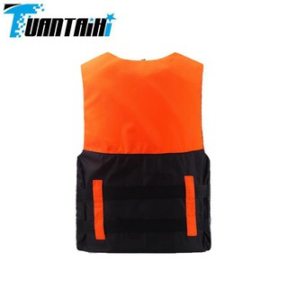 ۞Professional life jackets for adults and children's life-saving equipment thickened convenient flood fishing swimming b