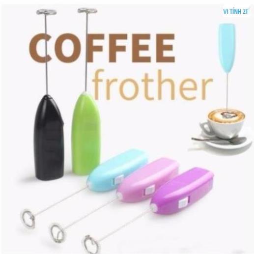 Cây khuấy cafe tạo bọt tự động Loại cao cấp, cây đánh trứng tạo bọt cà phê