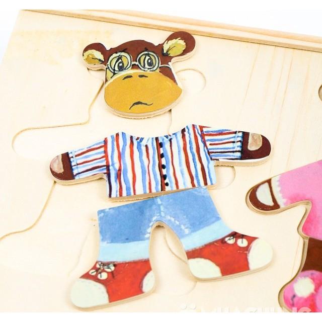 Đồ chơi gấu thay áo cho bé