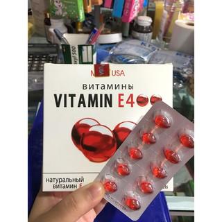 Viên uống vitamin E 400 đẹp da, sáng da, hạn chế lão hoá da hộp 100 viên thumbnail
