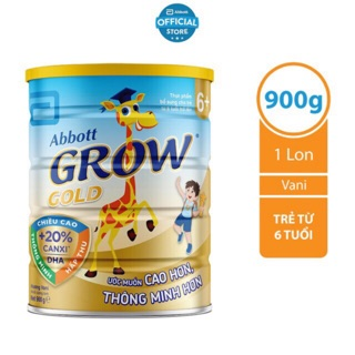 Sữa Abbott grow gold 6+ 900g thumbnail