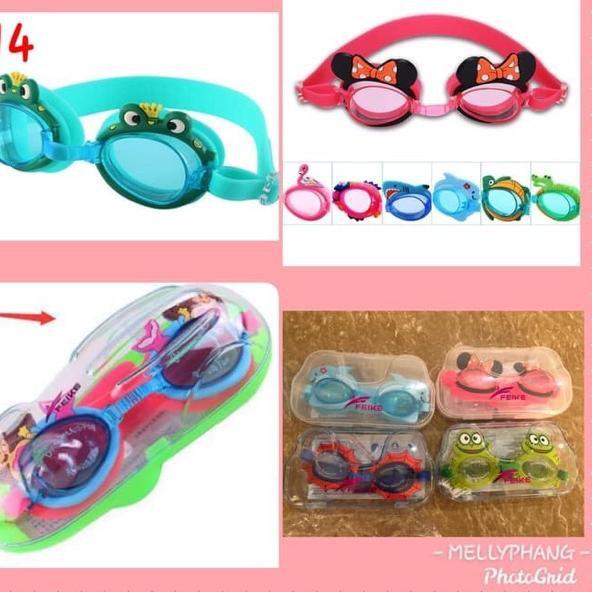 Mắt kính bơi BOX thời trang cho nữ