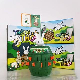 Thông Thỏ - Trò chơi thách thức nhân phẩm từ Thỏ Bảy Màu - BoardgameVN