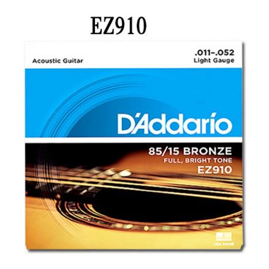 BỘ DÂY ĐÀN GUITAR ACOUSTIC D'ADDARIO EZ900 VÀ EZ910,EJ13