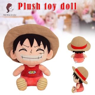 ETXK One Piece Anime Figure Plush Toy Stuffed Plush Dolls Cartoon Kids Toys Birthday Gift Toy