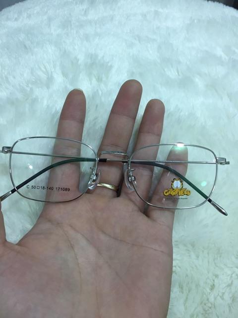 Gọng kính chuẩn titanium hãng CARFIELD mã 171089