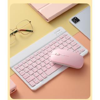 Hình ảnh GOOJODOQ Bộ bàn phím + chuột máy tính không dây bluetooth nhiều màu sắc nhỏ gọn cho iPhone/ iPad (có bán lẻ bàn phím)-1