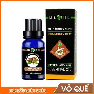 Tinh dầu quế AROMA khử mùi thơm phòng, tinh dầu thiên nhiên nguyên chất thumbnail