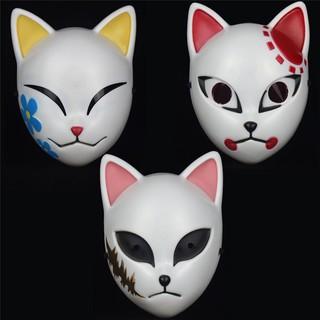 [Có sẵn của Tanjiro] mặt nạ mask cosplay Tanjiro Sabito và Makomo (Kimetsu no Yaiba)