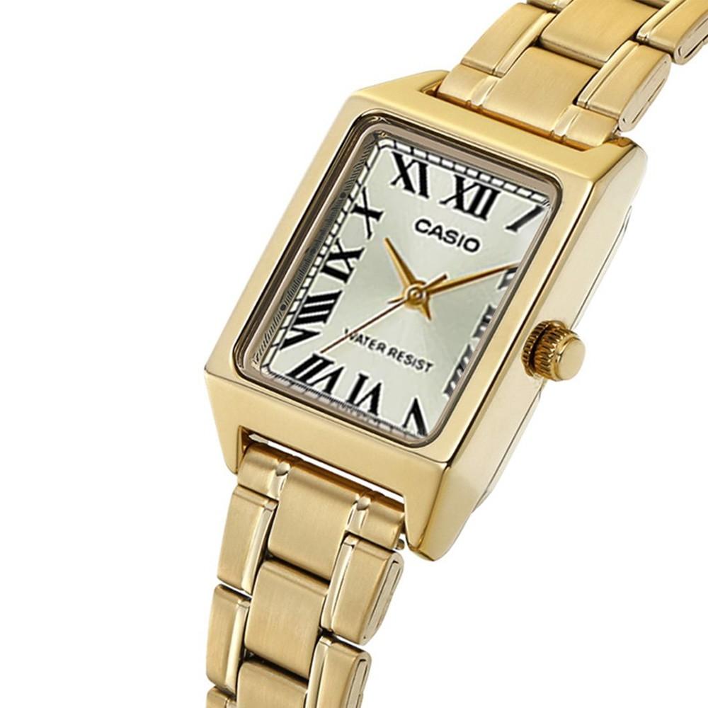 Đồng hồ nữ dây kim loại Casio chính hãng Anh Khuê LTP-V007G-9EUDF - Siêu đẹp