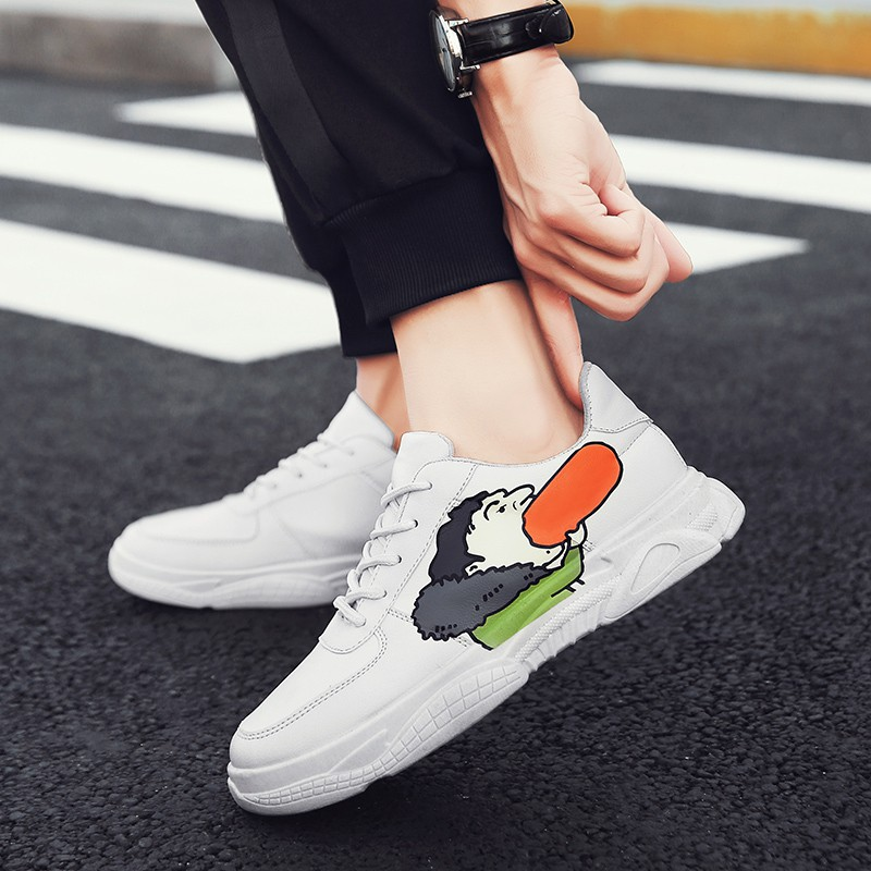 2019 spring new men's shoes men's sports and leisure shoes t