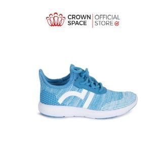 Giày Thể Thao Bé Trai Bé Gái Đi Học Nhẹ Êm Crown Space Sport Shoes Cruk8022 Màu BLUE Trẻ em Cao Cấp Size 28-35 2-14 tuổi thumbnail