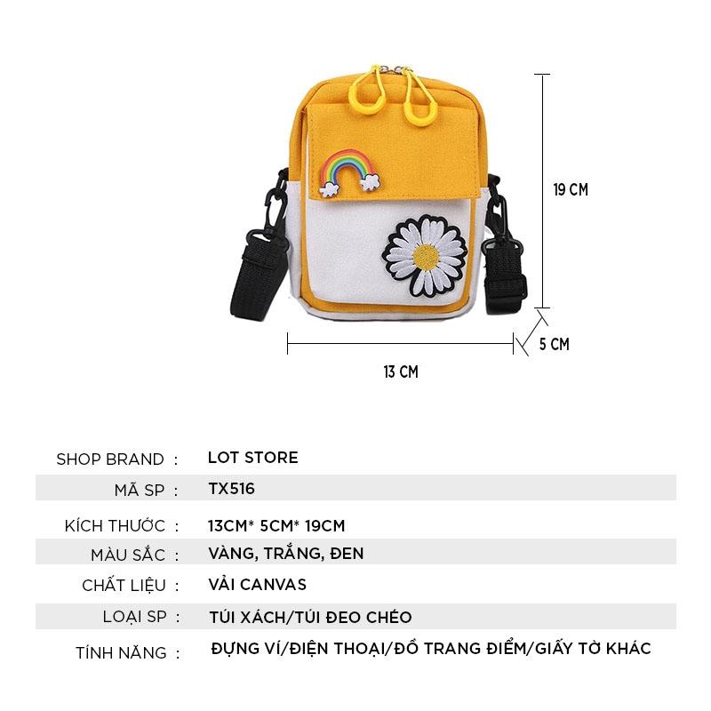 Túi đeo chéo nữ đi chơi mini nhỏ giá rẻ đẹp TX516