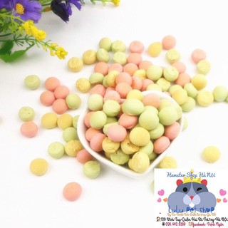 Bánh thưởng - milk ball -thức ăn dinh dưỡng hámter ( chai 40g ) thumbnail