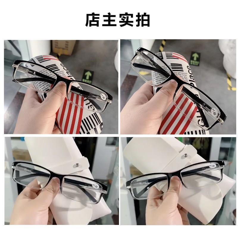 Kính đọc báo,kính lão cho nam nữ chống ánh sáng xanh,hàng nhập khẩu Nhật Bản, gọng vuông bằng nhựa thông...