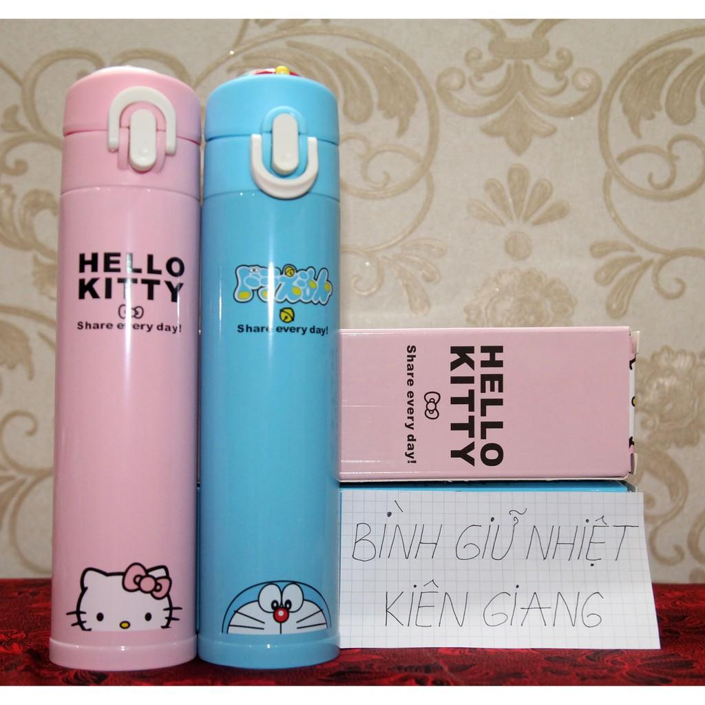 Bình giữ nhiệt Doremon & Hello Kitty 400ml kèm túi đựng bình - 3343833 , 807599589 , 322_807599589 , 150000 , Binh-giu-nhiet-Doremon-Hello-Kitty-400ml-kem-tui-dung-binh-322_807599589 , shopee.vn , Bình giữ nhiệt Doremon & Hello Kitty 400ml kèm túi đựng bình