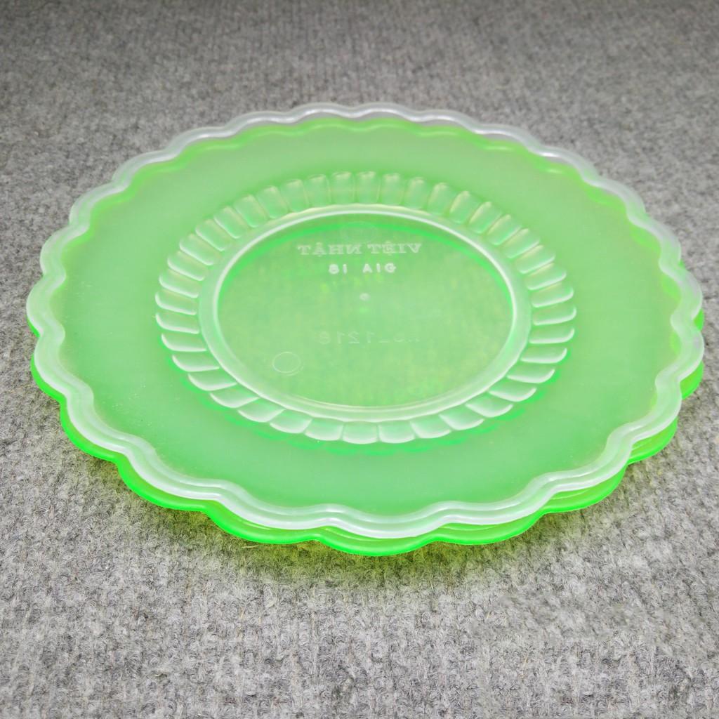 Set 5 đĩa nhựa Việt Nhật 18cm 1218