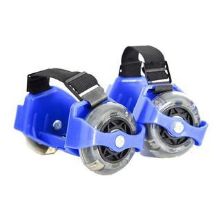 [Có sẵn] Bánh xe gắn giày trượt patin 2 bánh có đèn led