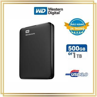 Ổ cứng di động WD Elements 2.5 USB 3.0 500GB 1TB - [Bảo hành 24 Tháng] Ổ cứng gắn ngoài phổ biến nhất thumbnail